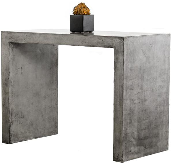 Advanced Interior Designs presents The Frantz Concrete Bar Table