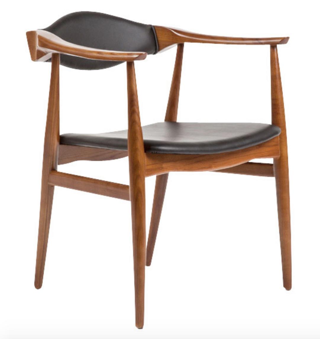 Beau ... Danish Chair Walnut ...