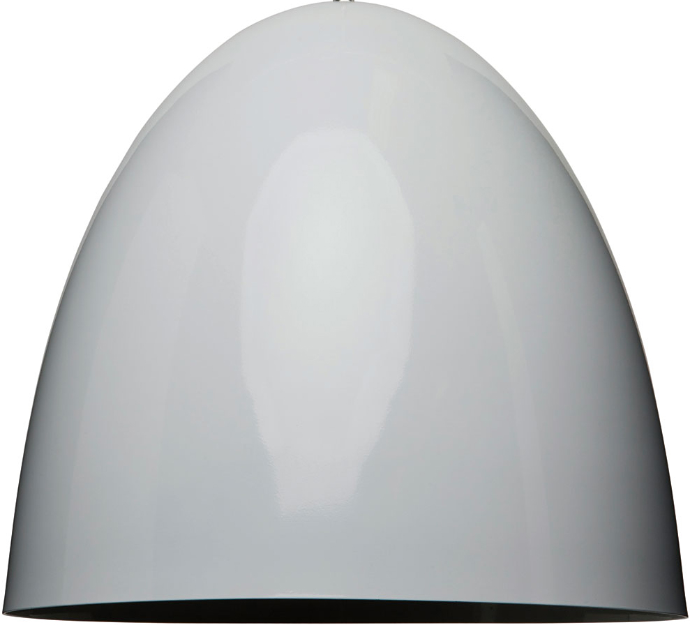 the dome pendant light in white