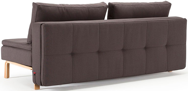 innovation living dual sofa oak legs