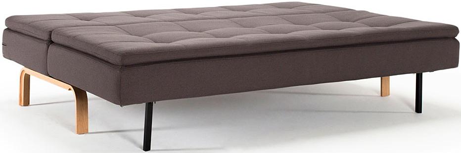 dual sofa with oak legs