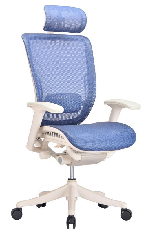 Ergo Office Chair Blue Mesh ...