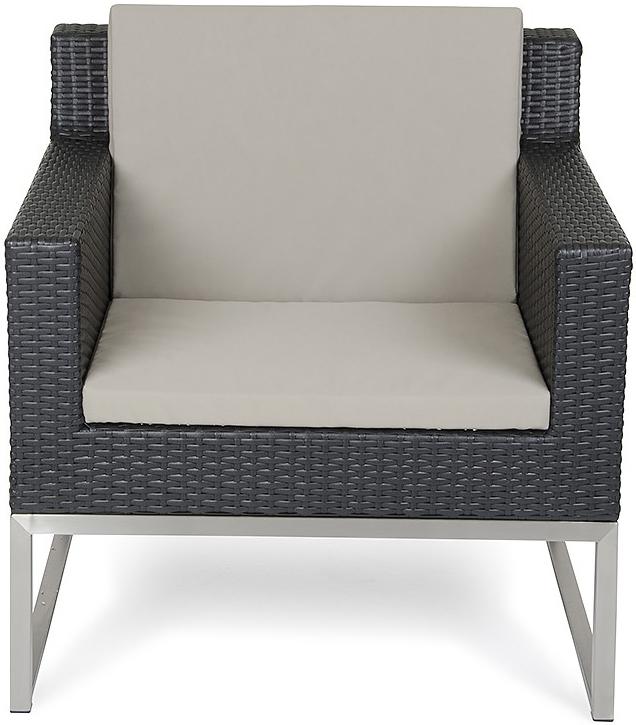 discount fakistra black rattan armchair