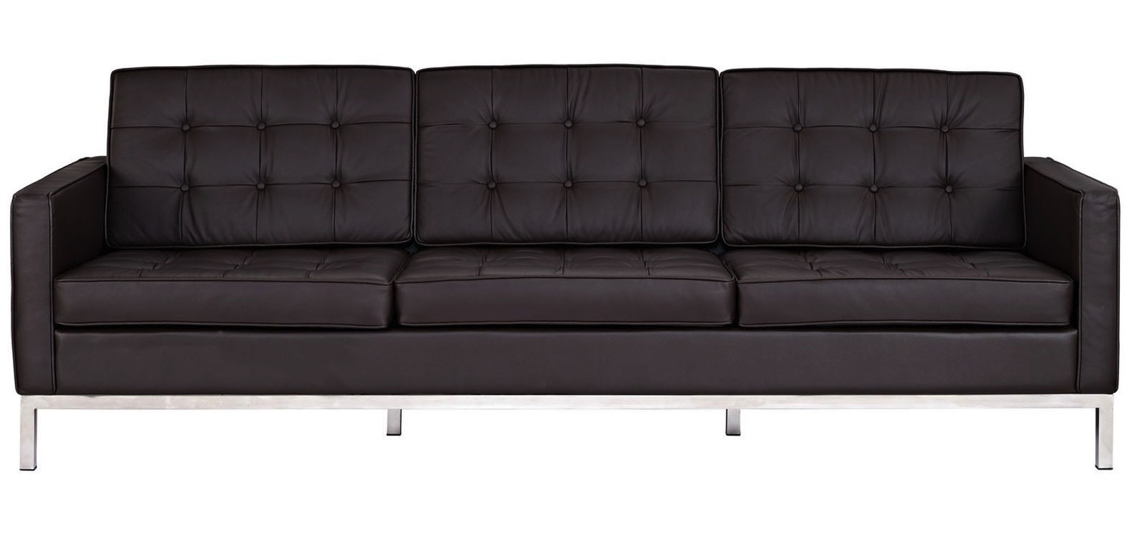 Merveilleux ... Florence Sofa In Brown Leather