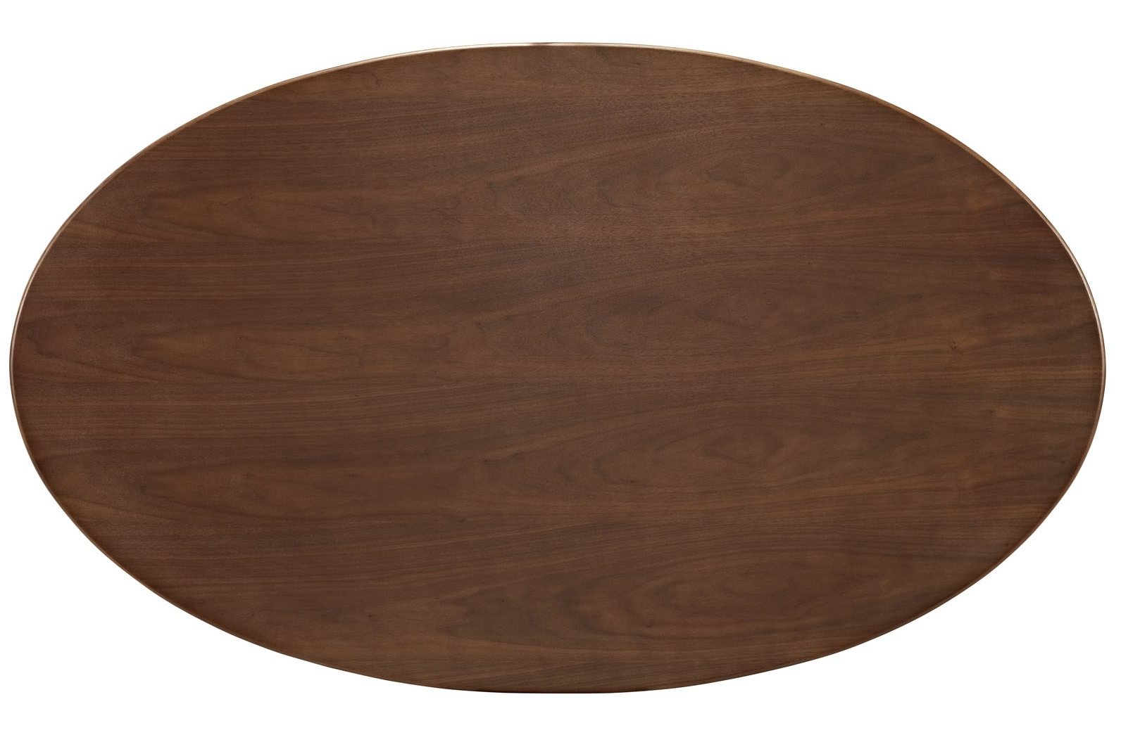Flower Tulip Oval Dining Table Walnut Home And Office