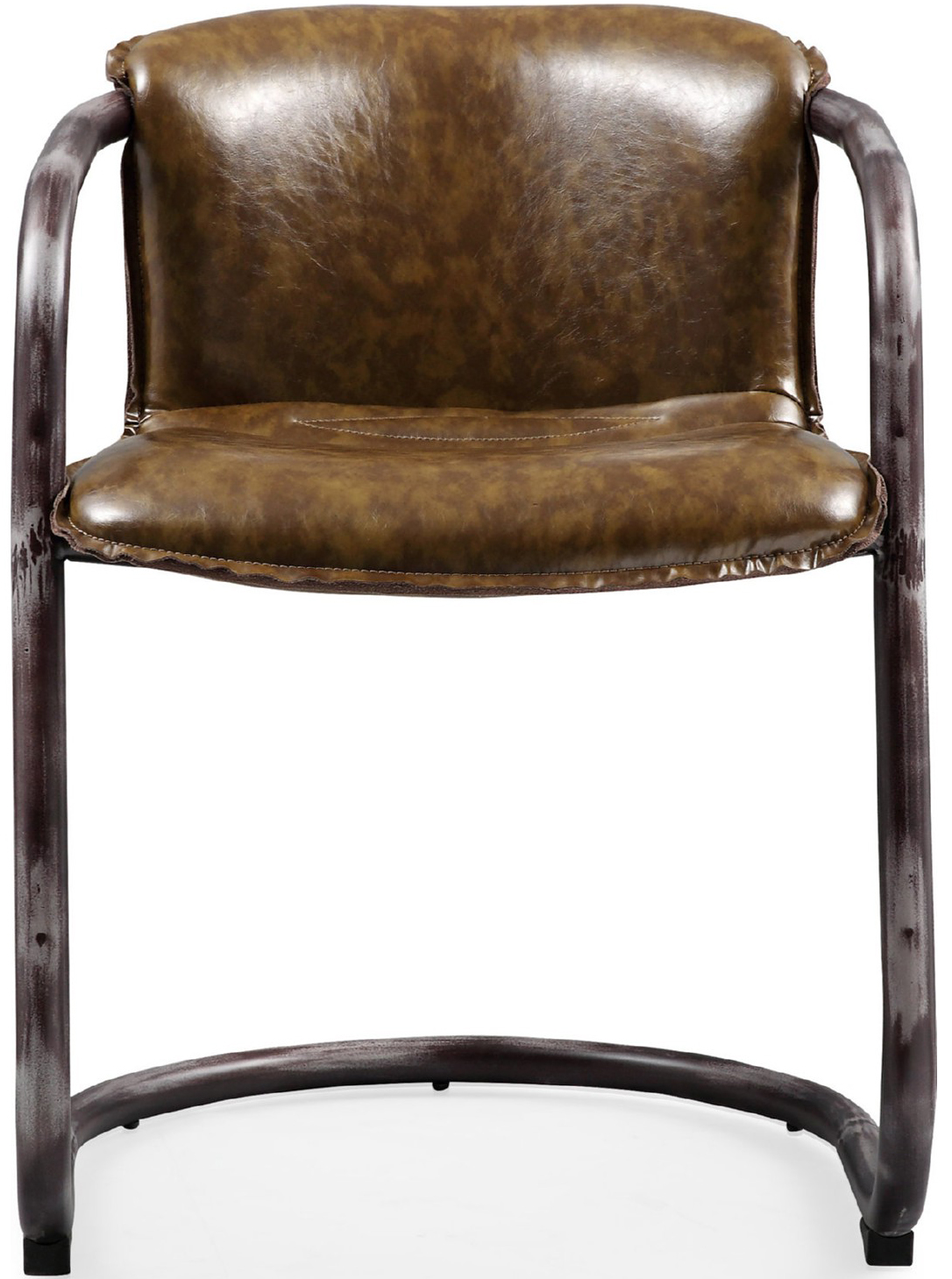 the gear dining chair in vintage cognac