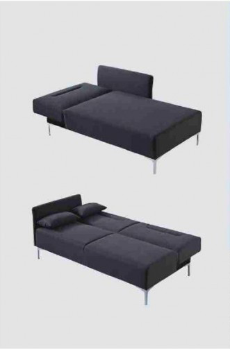 This is how the Bellino Sectional Sofa looks like when its converted into a bed. You can separate the 2 pieces so that it makes 2 beds.