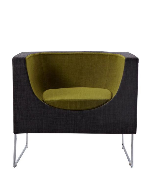 new low priced grey accent chair
