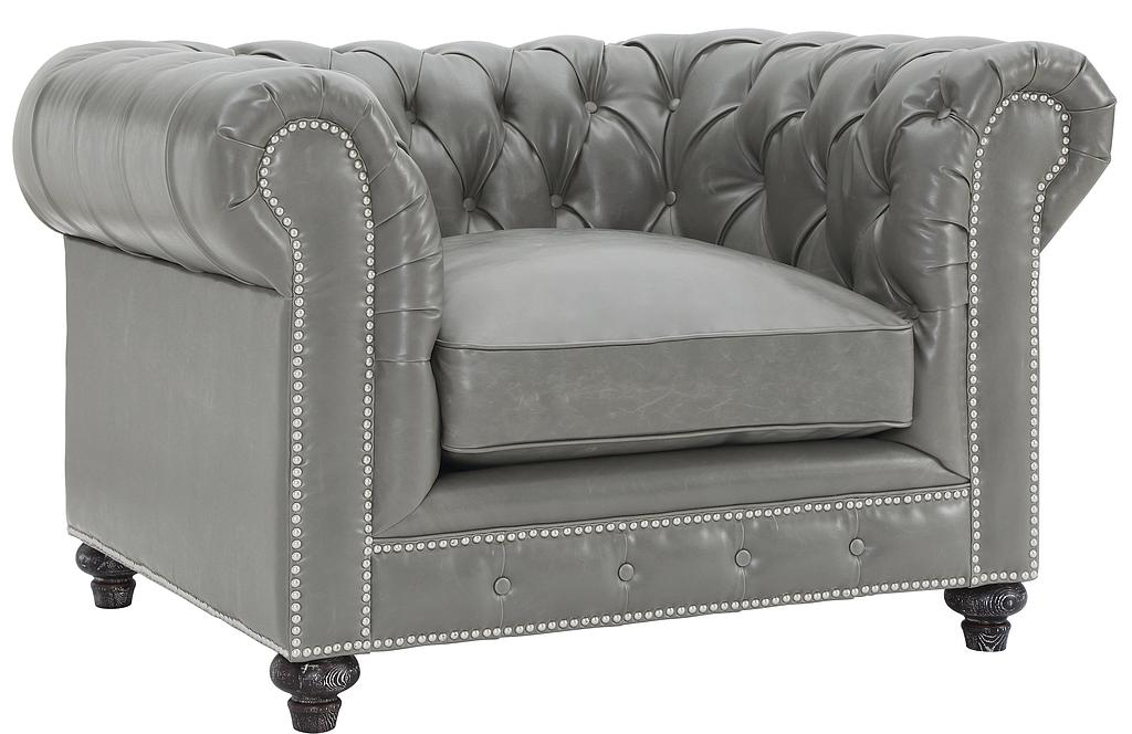 Low Priced Grey Chesterfield Armchairs Available At  AdvancedInteriorDesigns.com ...