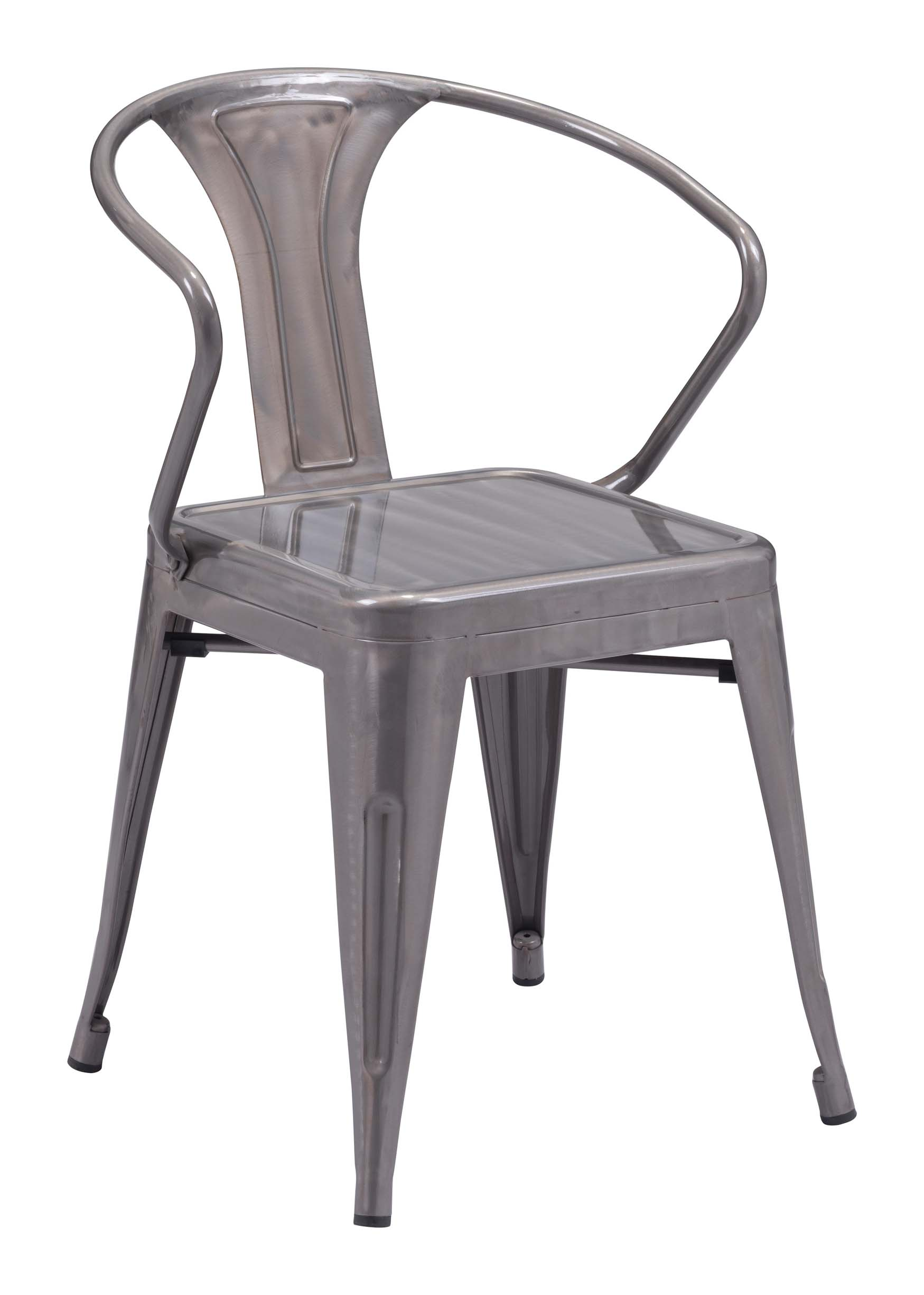 zuo helix dining chair