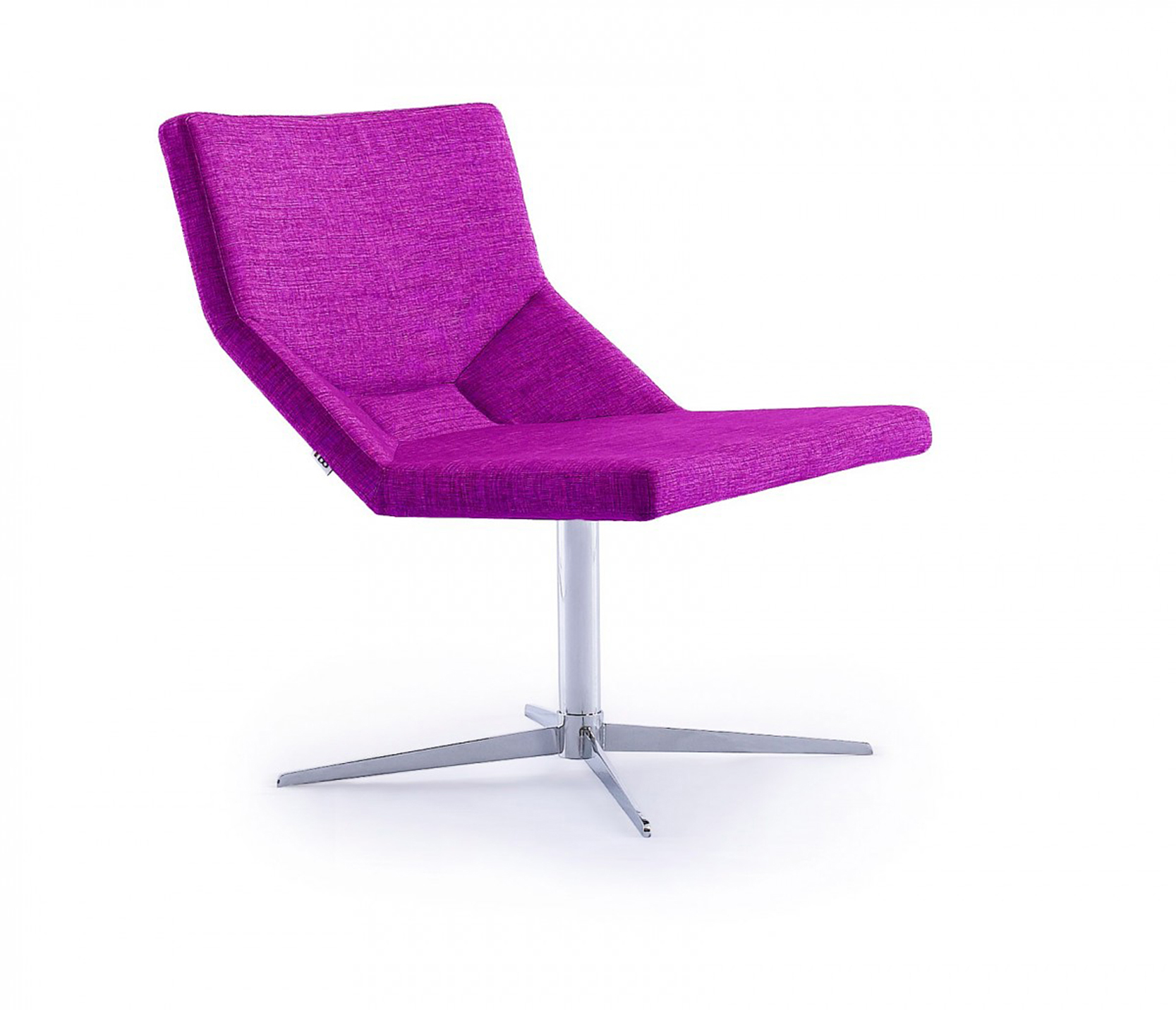 Find the perfect chair for your living room with the Bellissa Indoor Lounge Chair In Magenta