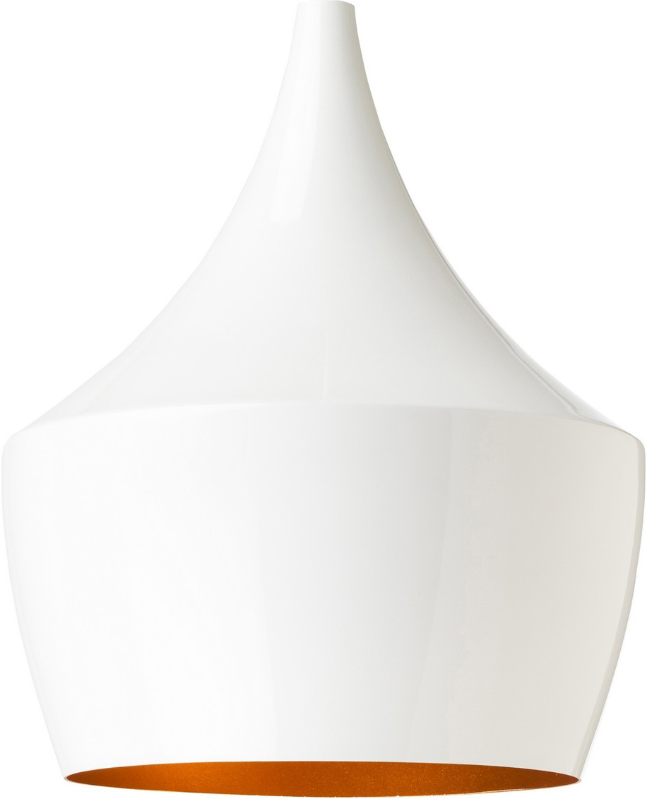 the nuevo karl pendant lamp in white