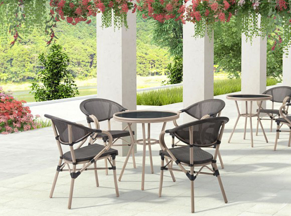 Advanced Interior Designs presents the Marseilles Dining Chair Dark Brown