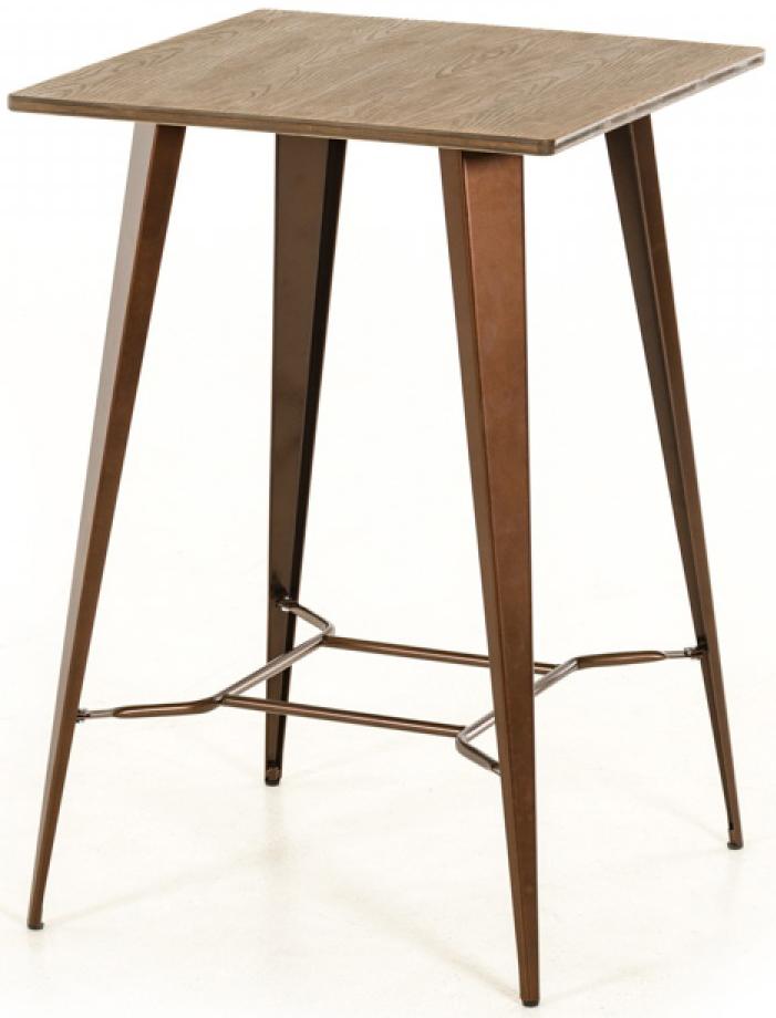 Darius Modern Bar Height Table Copper Bar Table