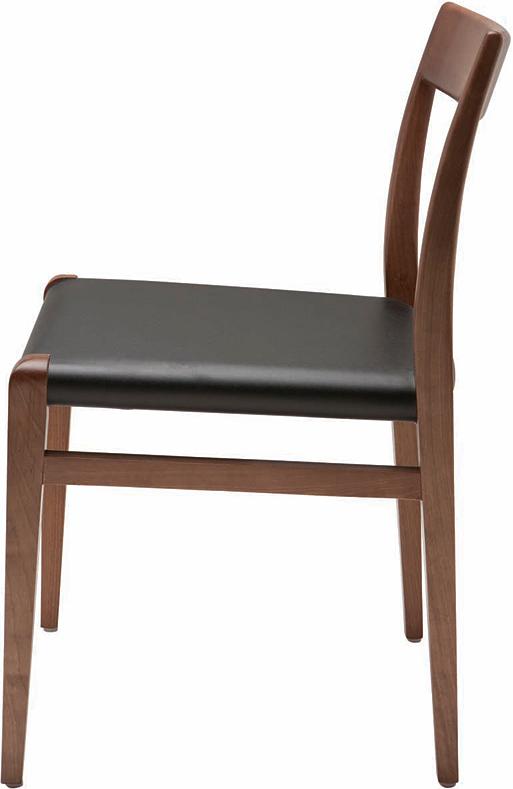 the nuevo ameri dining chair in walnut