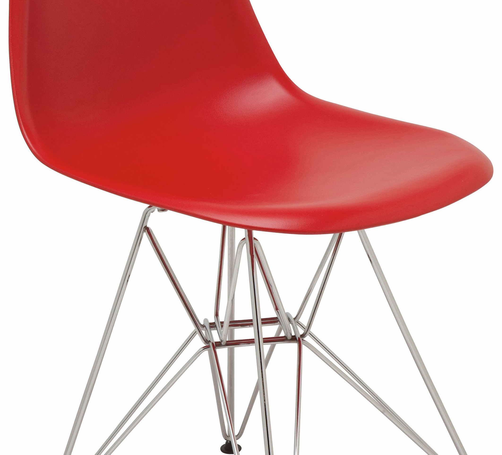 the nuevo max dining chair in red