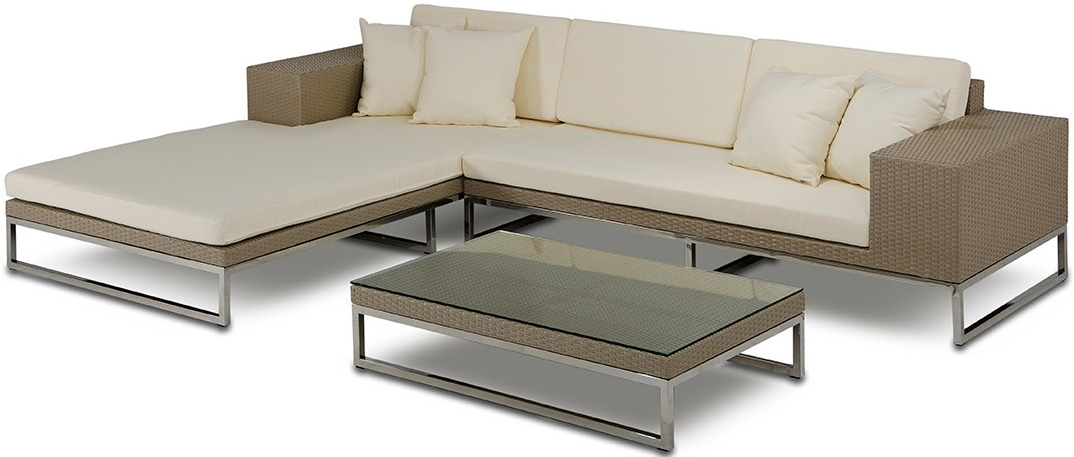 The Tahiti Low Profile Outdoor Modern Sectional | Patio ...