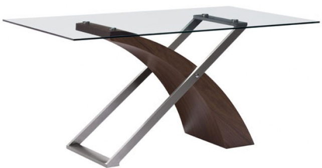 zuo 107861 outremont dining table walnut