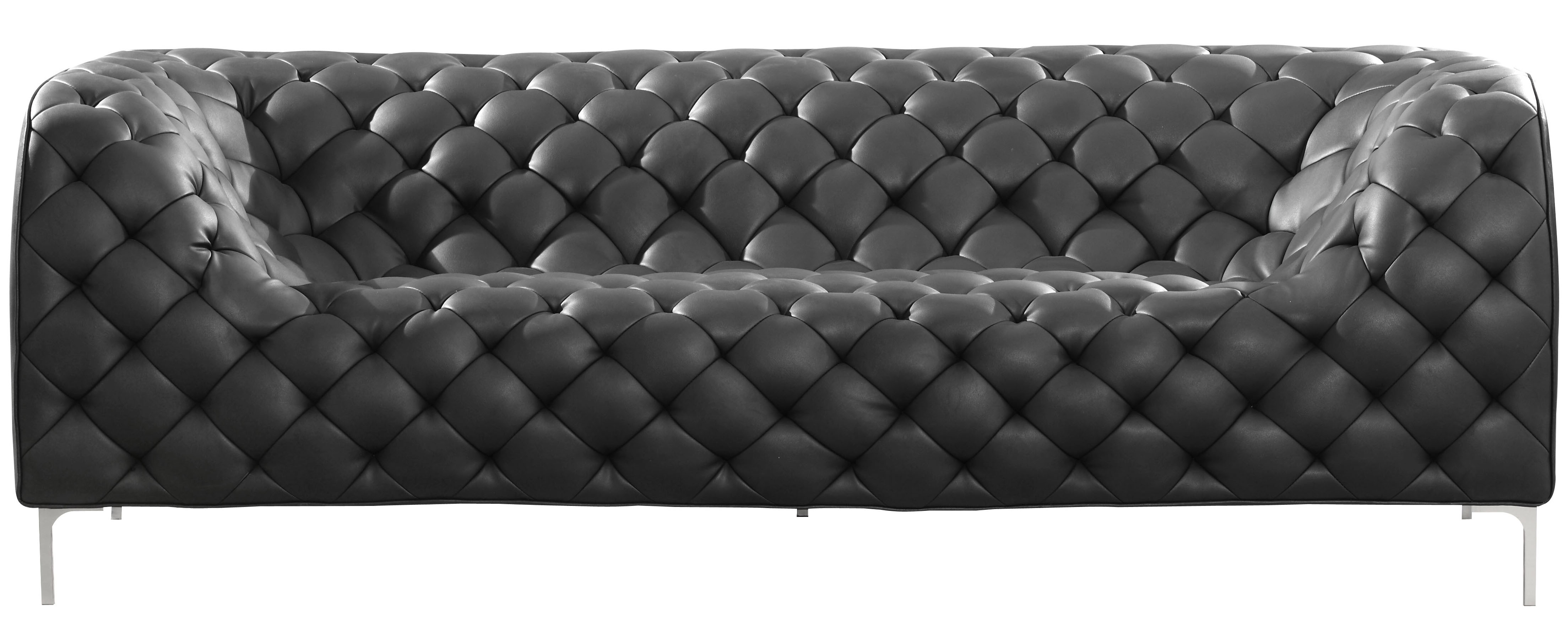 Charmant ... Providence Sofa Black Zuo ...