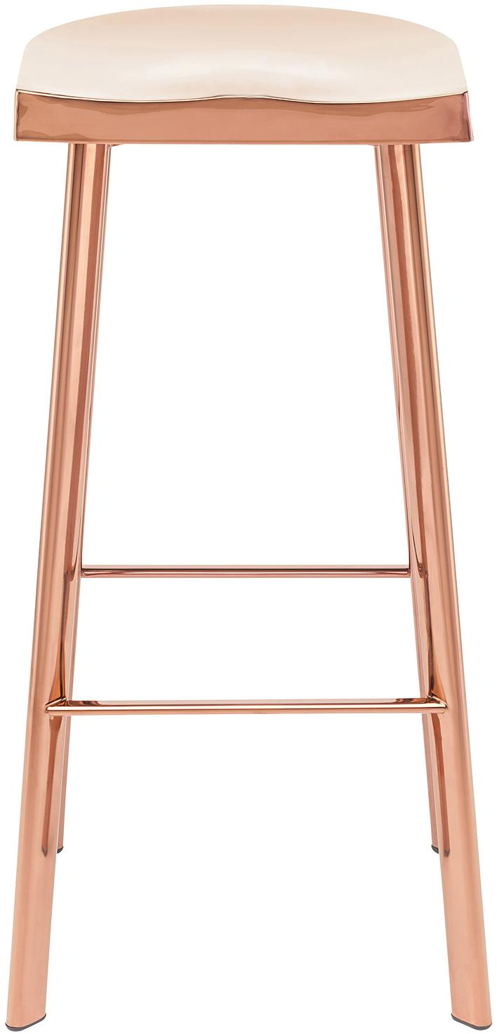 rose gold bar stool by Nuevo Living - Icon Bar Stool
