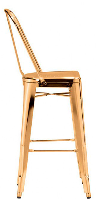 the side view of elio bar chair