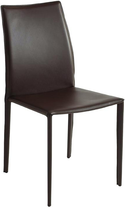 the nuevo sienna dining chair in brown