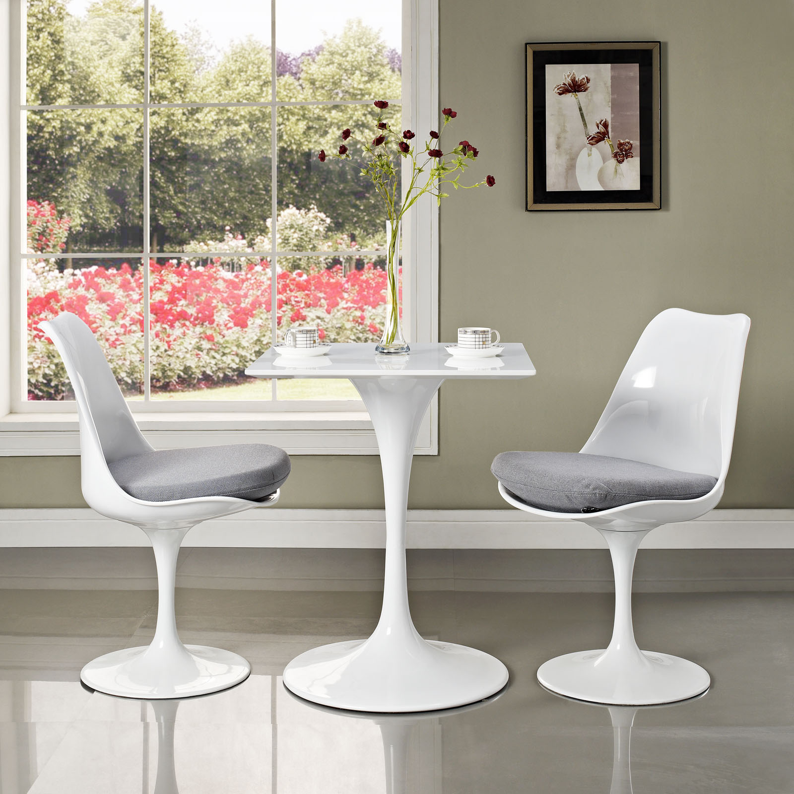 Tulip Table And Chairs Reproduction Home Design Ideas - Best saarinen tulip table reproduction