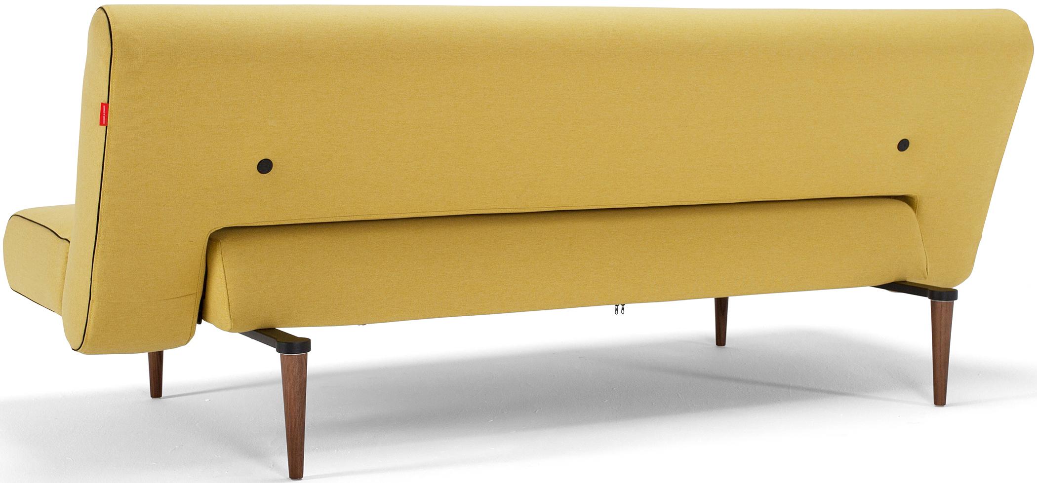 ... Unfurl Sofa Bed Mustard Yellow