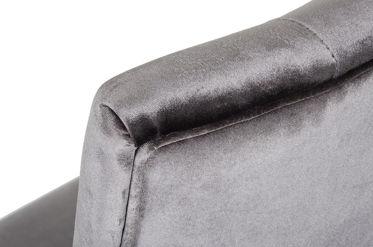 we've got a brand new velour dining chairs in grey