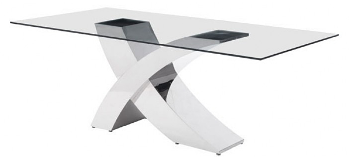 zuo modern wave dining table available at AdvancedInteriorDesigns.com