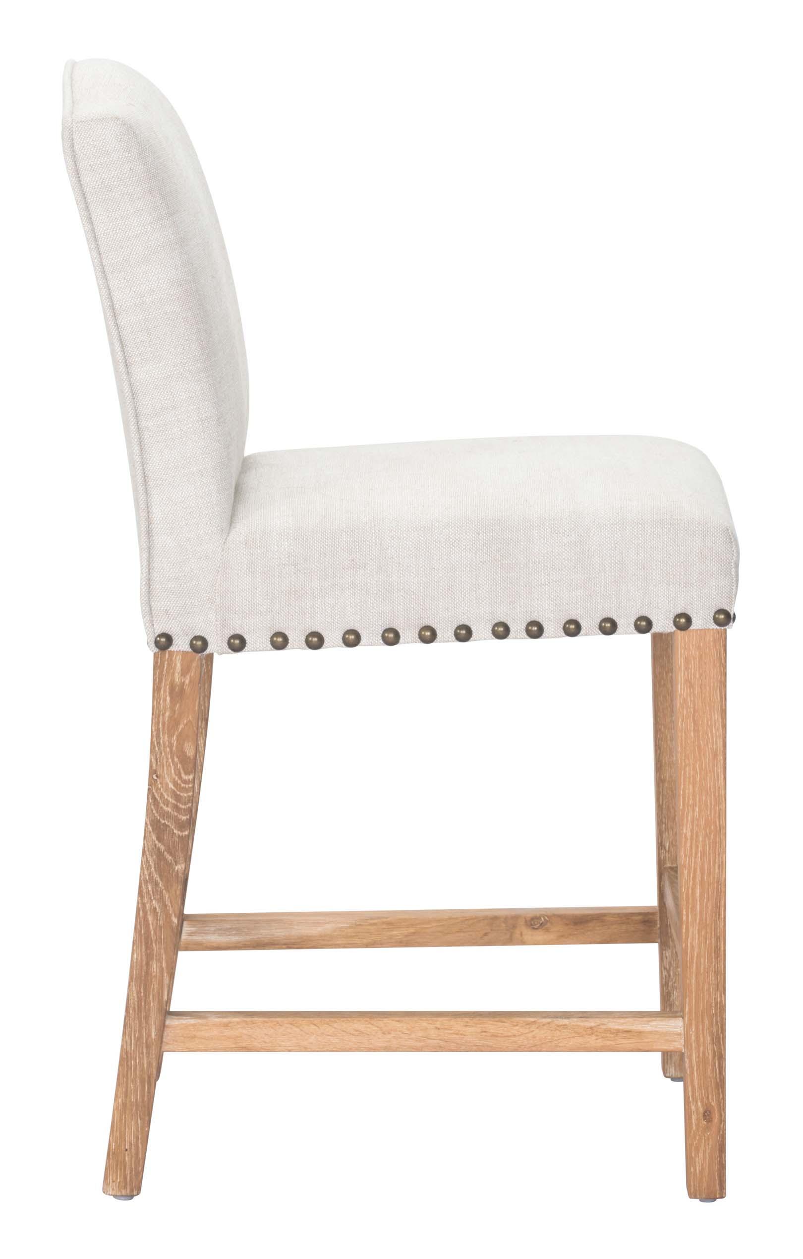 pasadena beige counter chair