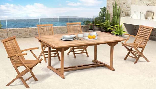 zuo 703553 regatta dining table