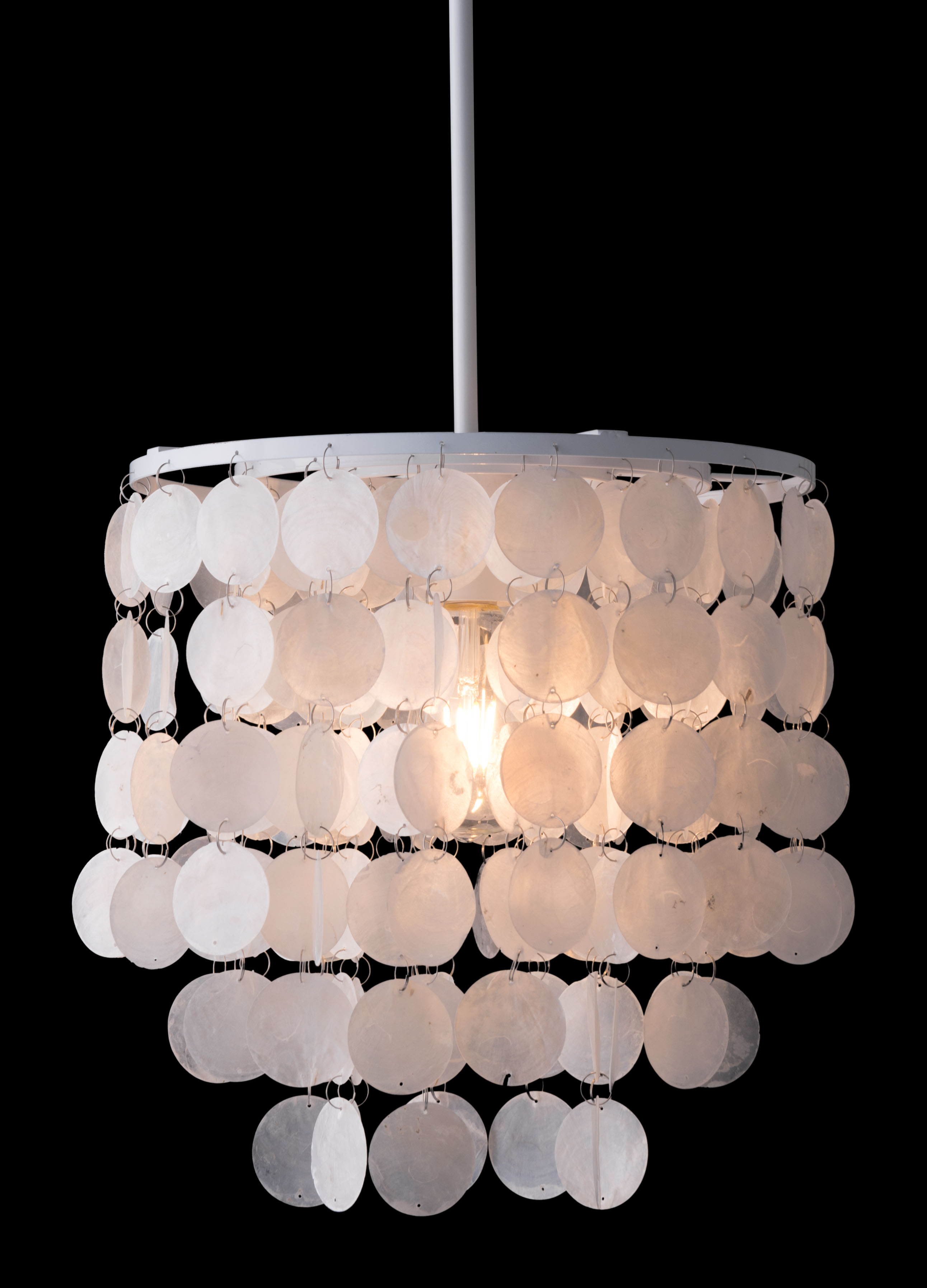 shell ceiling lamp by zuo