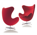 Arne Jacobsen Egg Chair-Red