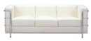 Fortress Sofa-White