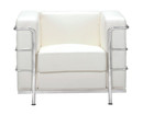 Fortress Armchair-White