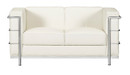 Fortress Loveseat-White