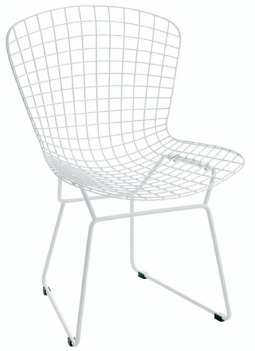 Harry Bertoia Style Wire Dining Chair