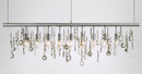 "48"" Cellula Style Crystal Chandelier"