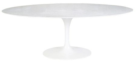 Saarinen Dining Table 78 Quot Oval Marble