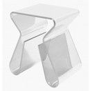 Acrylic Magino Style End Table