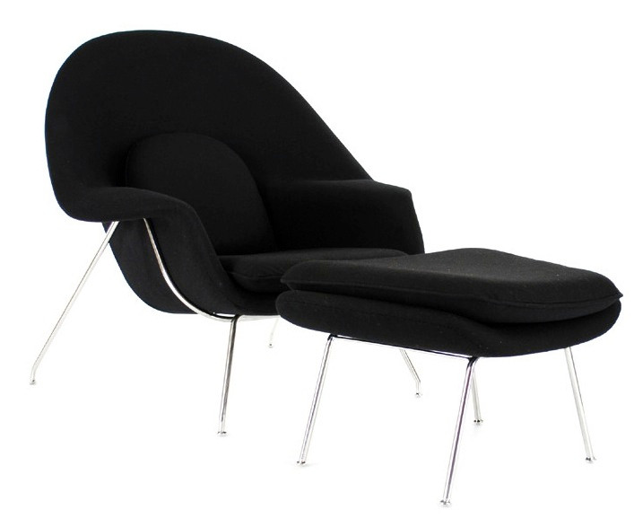 Womb Lounge Chair wombat lounge chair and ottoman