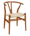 Wishbone Dining Chair - Medium Brown