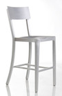 Cafe Aluminum Counter Stool - Front View