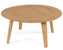 Molded plywood coffee table - Natural