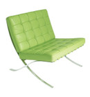 Exposition Chair - Semi Aniline Leather
