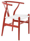 Wishbone Chair Red