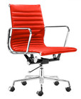 Premiere Leather Office Chair - Red