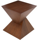 Giza Walnut Side Table By Nuevo