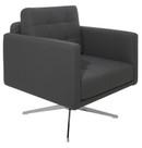 Maxwell Grey Lounge Chair by Nuevo - HGAF252 - Armchairs